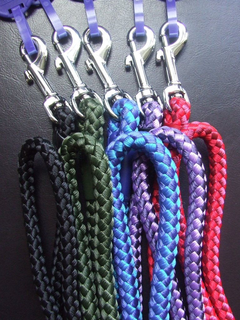 ANCOL - Nylon Rope Trigger Lead - Various Lengths, Widths & Colours