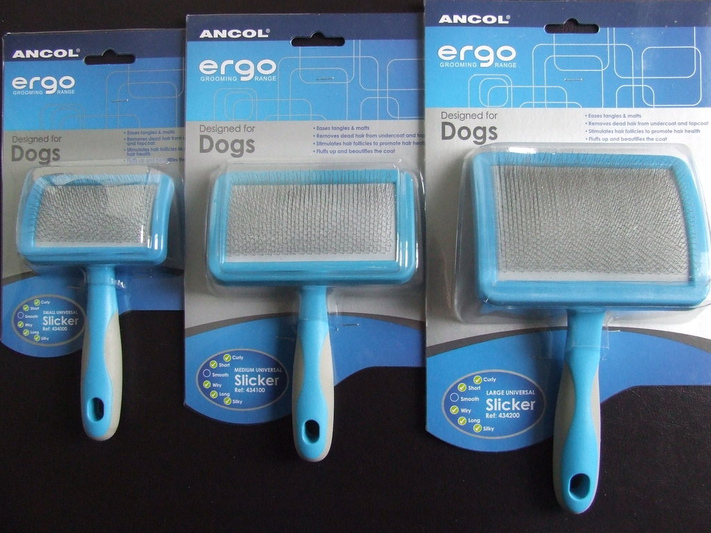 ANCOL - Soft Pin Slicker Brushes