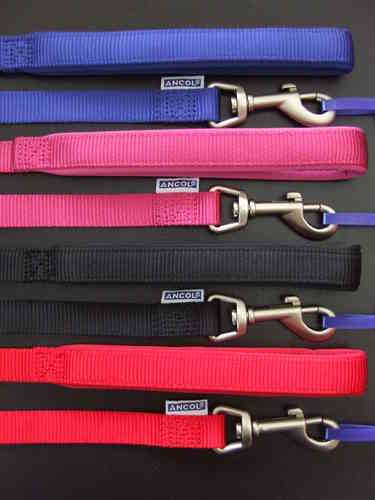 ANCOL - Strong Nylon Lead with Padded Handle for Comfort